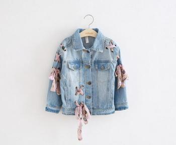 [Bosudhsou] gy-1 Baby Boys Girls Denim Jackets Coats New Fashion Spring Autumn Children Clothing Outwear Coat Kids Denim Jacket