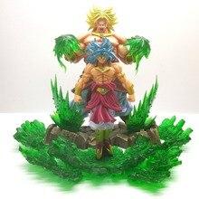 Dragon Ball Z Broly Super Saiyan Goku Action Figures DBZ Figurine