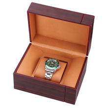 HENGRC Watch Case High Quality Wooden Rectangular 1 Grids Watch Box Ladies Jewelry Box Brown цена 2017