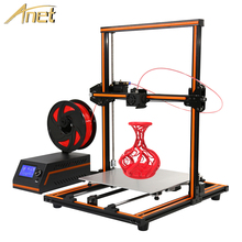 Anet E12 3d Printer High precision Large Size Reprap prusa i3 3D Printer DIY Kits Impressora 3d with 10m Filament imprimante 3d
