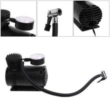 1Pc 300 PSI 12V Car Portable Mini Air Compressor Electric Tire Inflator Pump w/Gauge