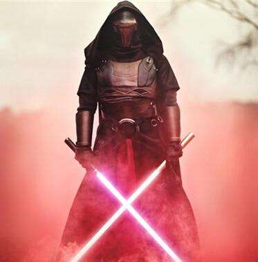 NEW 2pcs/set 148cm <font><b>Star</b></font> <font><b>Wars</b></font> 7 The Force Awakens <font><b>LED</b></font> lightsaber scalable Cosplay <font><b>Darth</b></font> <font><b>Vader</b></font> <font><b>action</b></font> <font><b>figure</b></font> toys doll