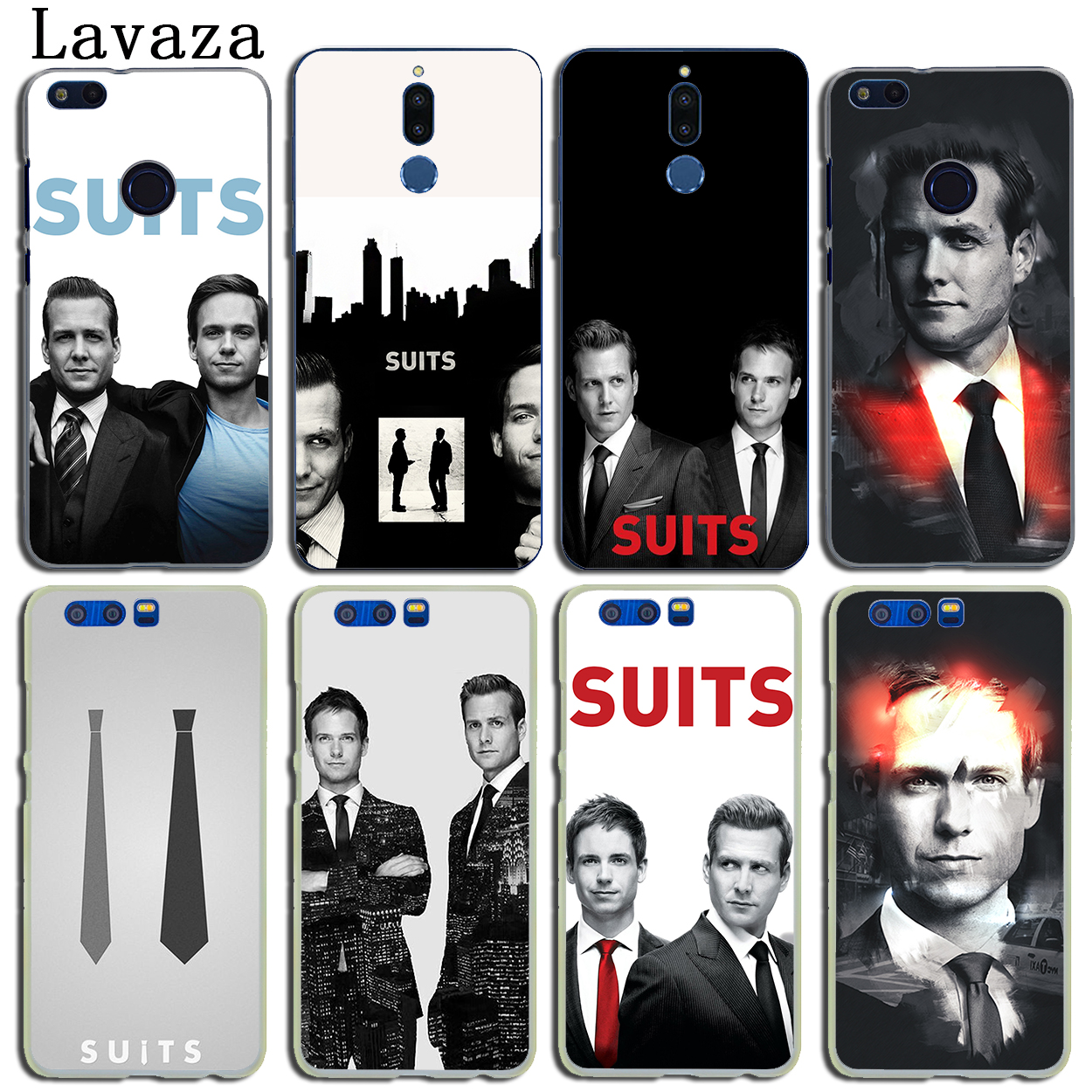 Lavaza Suits TV Show Hard Phone Case for Huawei Y6 Y5 Y3 II Y7 2017 Nova 2 Plus 2S 2i &  ...