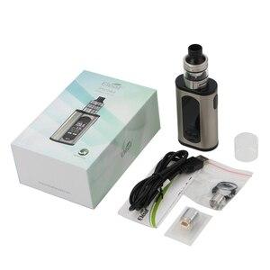 Image 2 - Original Eleaf Invoke Kit 220W E Cigarettes Invoke Box MOD Vape and ELLO T Atomizer Fits HW1 Coil Vaper Vaporizer