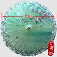 Diameter 60 70CM Season Discount Oil Paper Umbrella Hot Craft Hand Make Bamboo Umbrella Kids Dance Foreigner Friends Collection