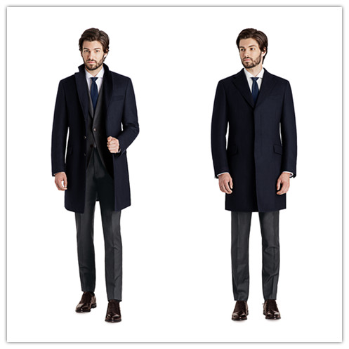 Popular Blue Peacoat Men-Buy Cheap Blue Peacoat Men lots from ...