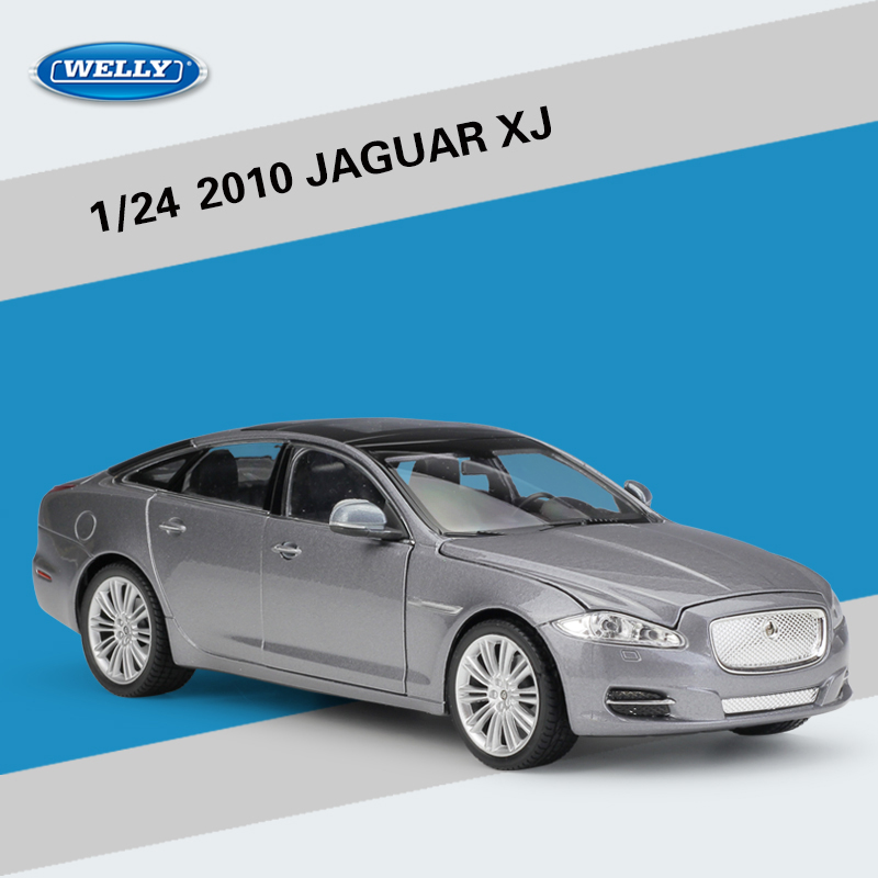 2010 Jaguar Coupe: Welly 1:24 Scale 2010 JAGUAR XJ Super Toy Car Model