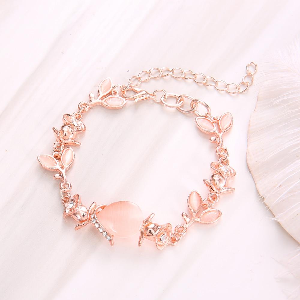 palo-piedra-pulsera-brazalete-para-las-mujeres-de-lujo-ajustable-rosa-de-oro-Pulseras-Mujer (1)