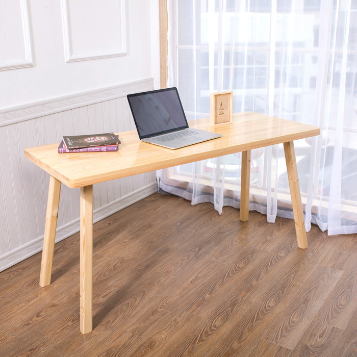 Simple modern pine computer desk high quality solid wood desk study desk 250616 computer desk and desk style modern simple desk with bookcase desk simple table solder edge e1 grade sheet material