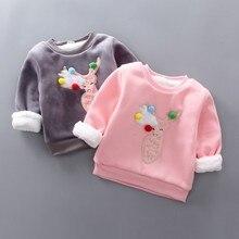 Зимние Детские свитера для мальчиков; вязаный пуловер с рисунком лося; повседневные топы для маленьких девочек; теплый свитер для девочек