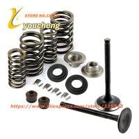 CF250 172MM Valve Spring Assembly Cylinder Head Parts CH250 CF Valve set Engine Parts Wholesale QMTJ CF250 Drop Shipping