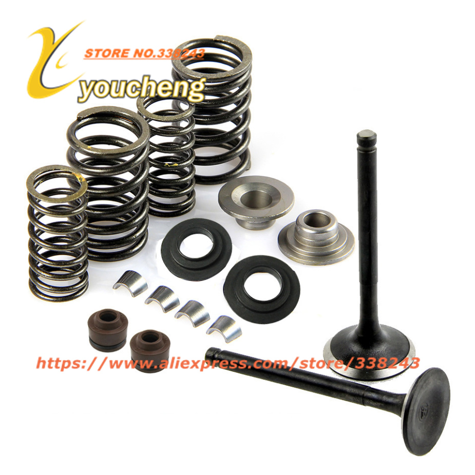 CF250 172 MM Valve Spring Assembly Cylinder Head Parts CH250 CF Set di valvole Parti del motore all'ingrosso QMTJ-CF250 Drop Shipping