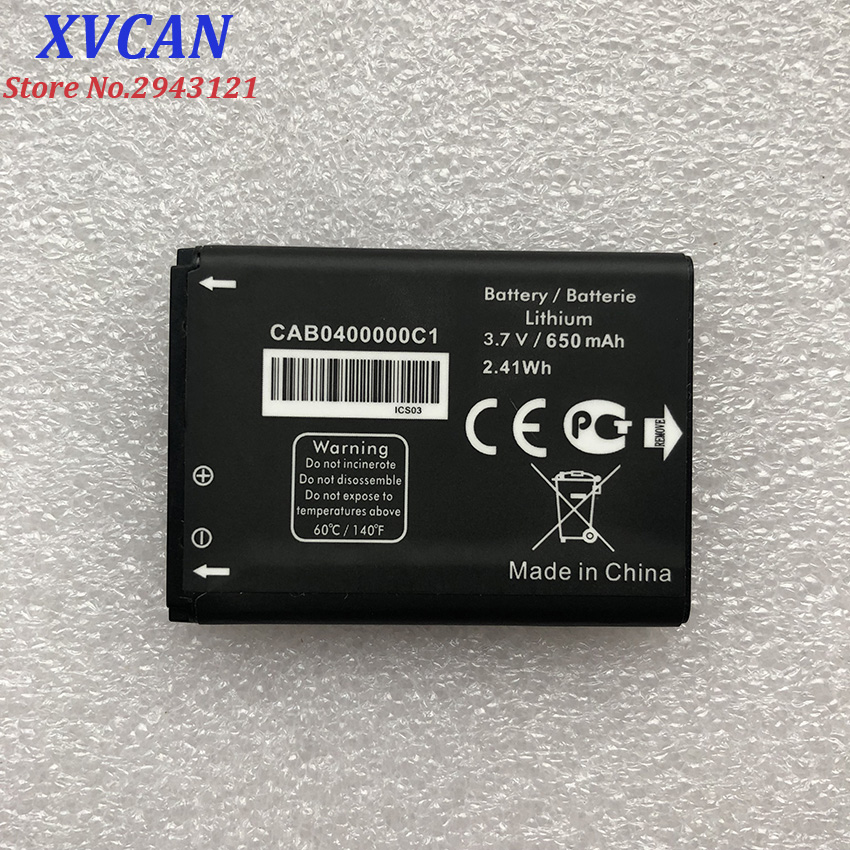 New CAB0400000C1 TLi004AB CAB22D0003C1 CAB30M0000C2 Battery For ALCATEL OT708 OT-708 OT-2010 OT-2010D OT-2010X OT-356 OT-665X