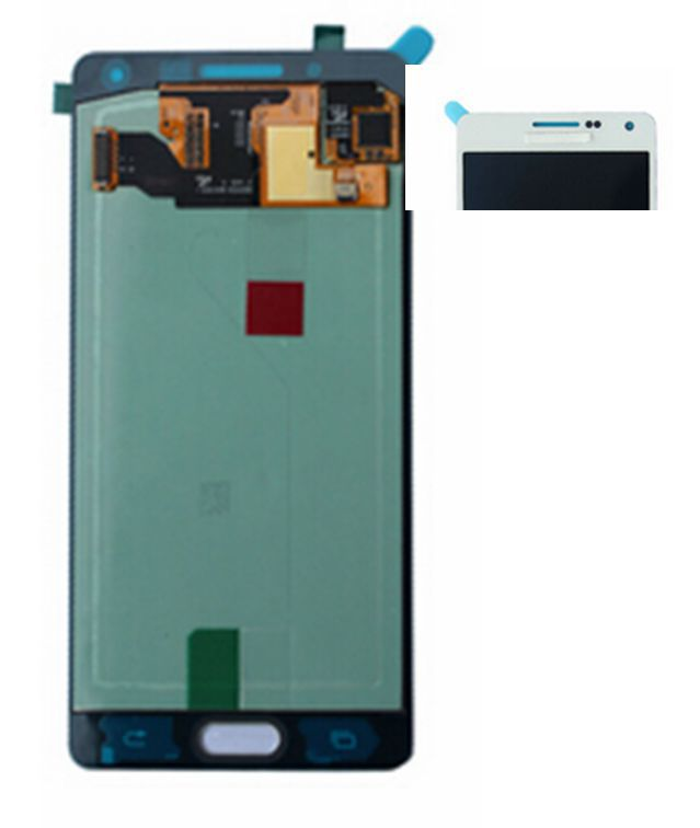 2015 White or Dark Blue /Gold For Samsung Galaxy A5 A500 A5000 A500F Lcd display screen+touch glass Assembly free shipping