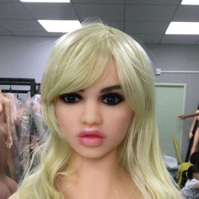 #64 Sexy girl sex doll head for big size 135cm/140cm/148cm/153cm/152cm/155cm/158cm/163cm/165cm/170cm