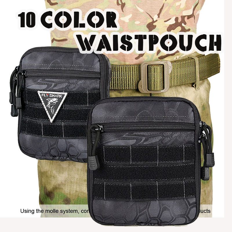 Free shipping 13 Color 15x17x4CM 1L 1000D Waterproof Nylon