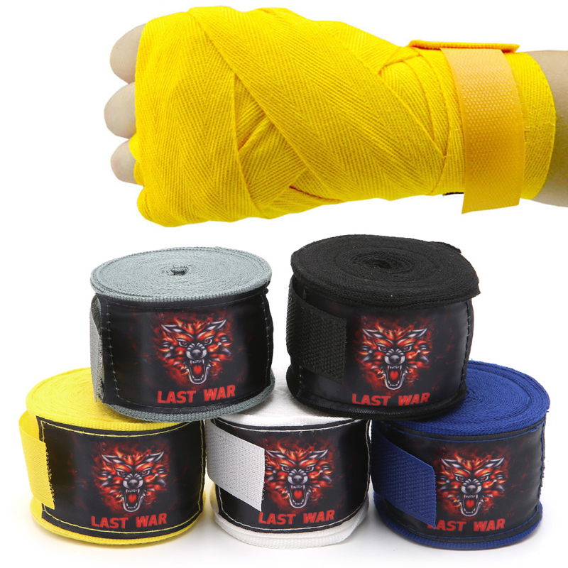 5M Boxing Fist Inner Hand Wraps Padded Bandages MMA Muay Thai Wrist Protecting