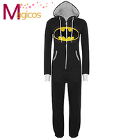 Adults All In One Onesies Pajamas Batman Pijamas Cosplay Party Costume Sleepwear for Men Women