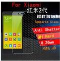 0.26mm ultrafino hd premium vidro temperado película protetora para xiaomi redmi 2 2a protetor de tela para xiaomi redmi 2 2 s vidro