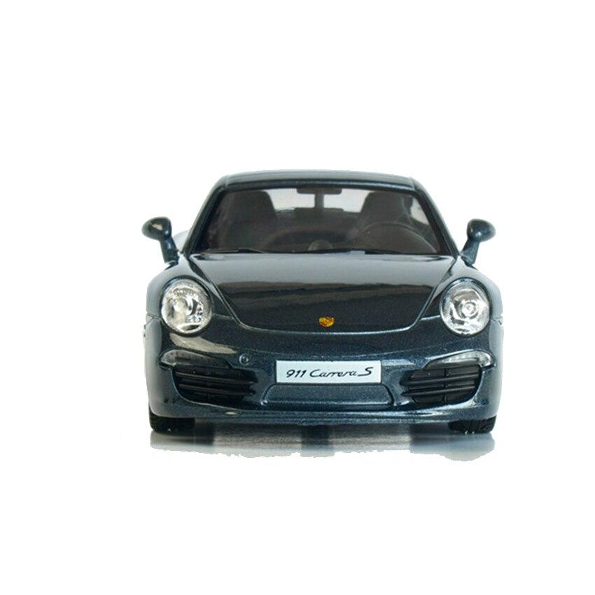 R 1:36 сплава отступить игрушечных автомобилей 911 CARRERA s спортивный автомобиль модели детских игрушечных автомобилей оригинальный Уполномоче...