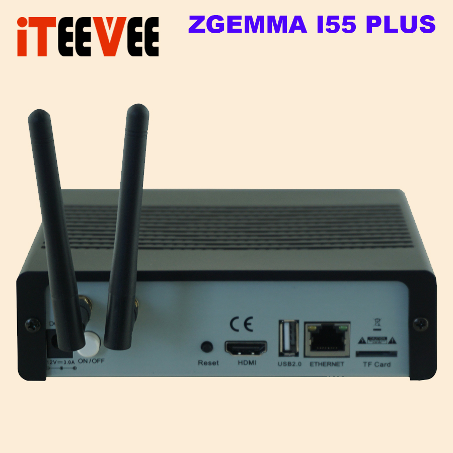 US $35 61 7% OFF New 4K UHD IPTV Box ZGEMMA i55 1500MHz Quad core Linux OS  E2 H 265/HEVC Multistream With Built in WiFi-in Satellite TV Receiver from