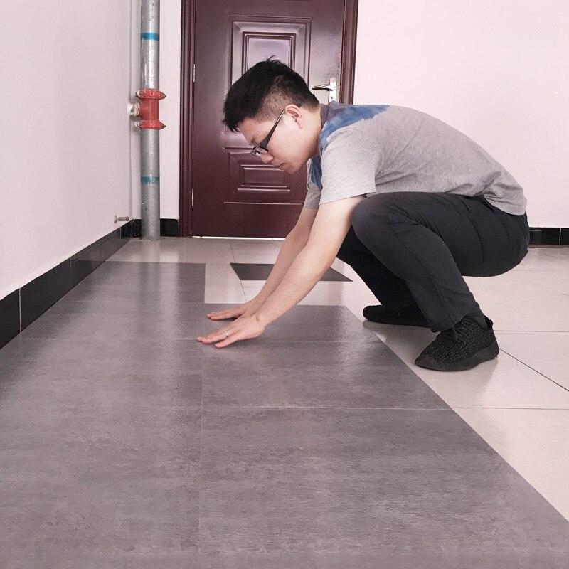 Wellyu Pvc Floor Sticker Self-adhesive Household Waterproof Flooring Rubber Thick Wear-resistant Stone Plastic Living Room Floor
