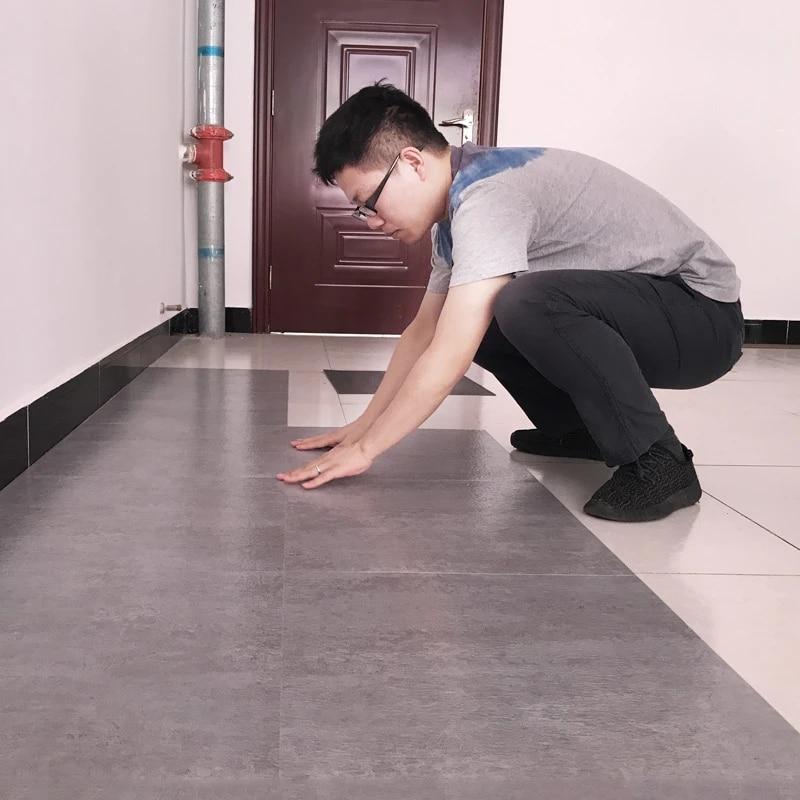 Wellyu Pvc Floor Sticker Self Adhesive