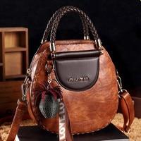 European American fashion packet CHISPAULO brand messenger bag New 2019 women PU leather shoulder bag free shipping