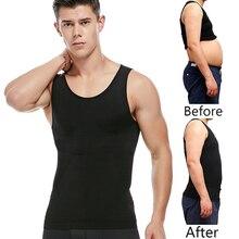 Men Slimming Body Vest Burning Shapewear Sweat Sauna Waist Trainer Shaper Tummy Belly Fat Thermo