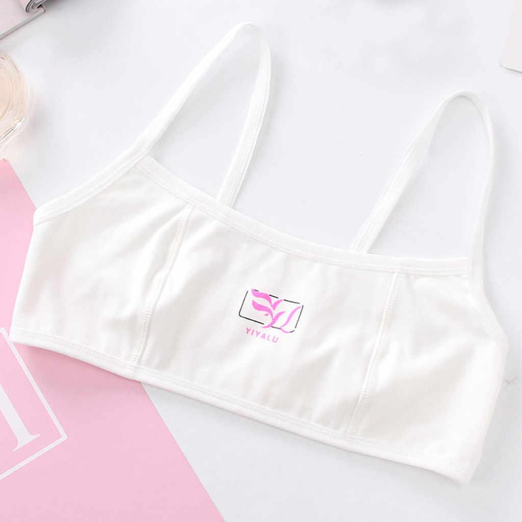 Crianças Roupas Íntimas Sutiãs de Treinamento Da Menina crianças Rosa Meninas Underwear Bra Esporte Roupa Interior Roupa #8