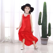 Summer Brand 2019 Kids Dresses For Girls Casual Wear Girl Backless Dress Children Boutique Clothing Fashion Baby Girls Clothes недорого