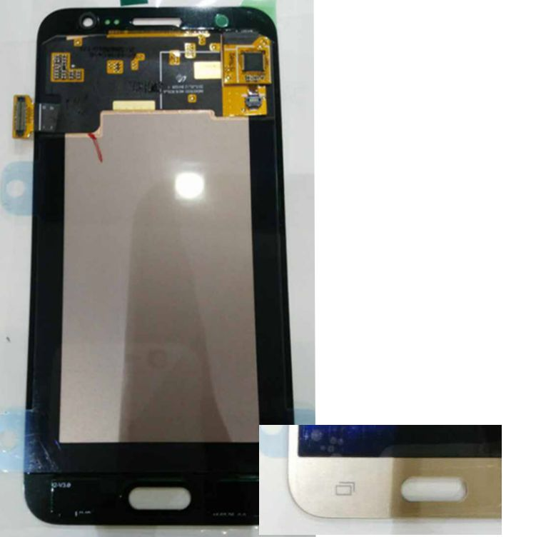 2015 Gold color Original Amoled LCD Display +Touch Screen Digitizer assembly for Samsung Galaxy J5 J500F J500M J500Y