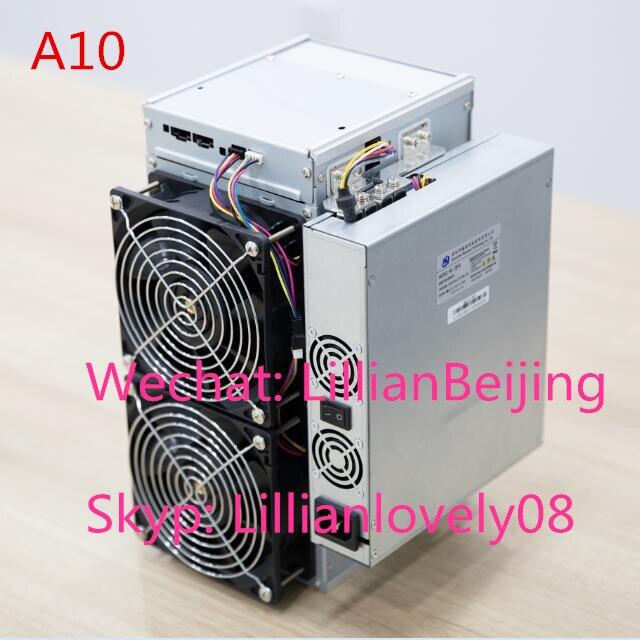 used Avalon 1066 pro 55T SHA256 ASIC miner BTC Bitcoin miner A1066 pro avalon Miner A1066pro 55TH/s with PSU power supply(China)