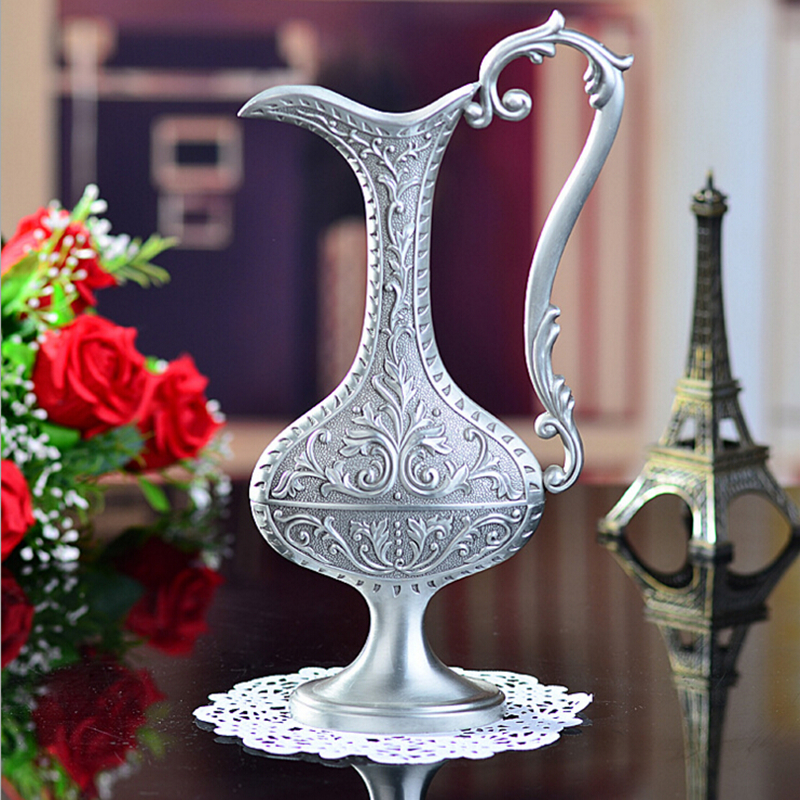 Online Get Cheap Metal Flower Vases Aliexpress Com Alibaba Group