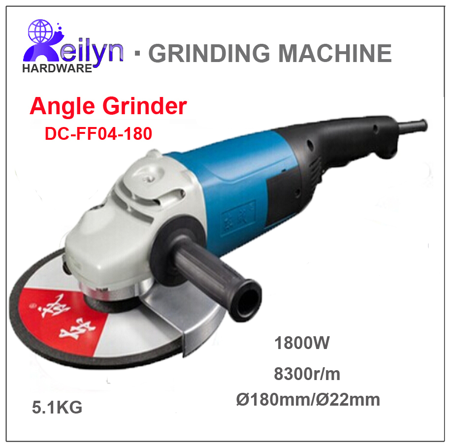 220V 1800W 8300r/m Wheel Dia. 180mm Angle Ginder Polishing Tool Grinding Machine DC-FF04-180 complete ielts bands 5–6 5 student s book with answers with cd rom with testbank