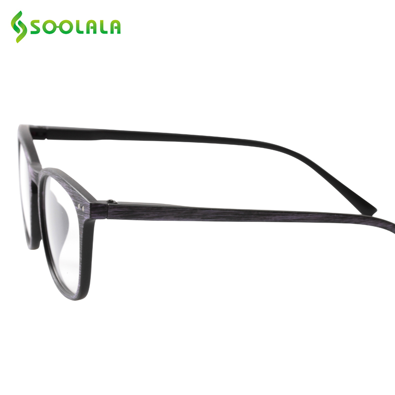 2892bf3e9eb SOOLALA Bamboo Reading Glasses Women Mens Eyewear Frames Woodgrain Reading  Glasses with Spring Hinge Arms +1.0 to 4.0-in Reading Glasses from Apparel  ...