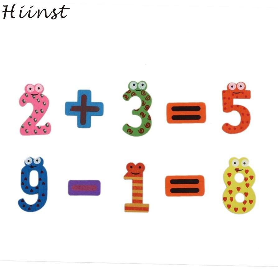Навчальний комплект бестселерів набір смішних магнітів для холодильника Раннє навчання Дерев'яні іграшки з математики Brinquedo Aug оптом Цифрові іграшки S10