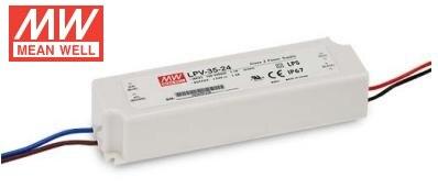 Бесплатная доставка значит хорошо IP67 lpv-35 35 Вт 5 В 12 В 15 В 24 В 36 В 148*40*30 мм 90-264vac один Выход Импульсные блоки питания