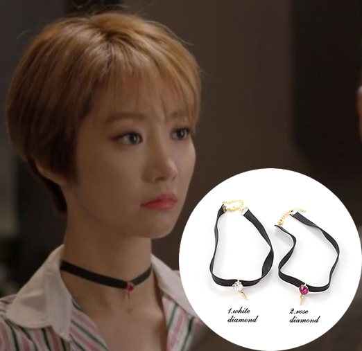 She Was Pretty 2015 Korean drama tv series necklace kpop fashion clothing  necklace winter women jewelry cool necklace Go JoonHee-in Pendant Necklaces  from ...