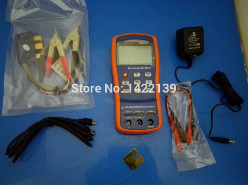 TH2822A Inductance Capacitance 100-10kHz LCR RCL LC Meter USB th2821a inductance capacitance 10khz handheld lcr rcl lc meter