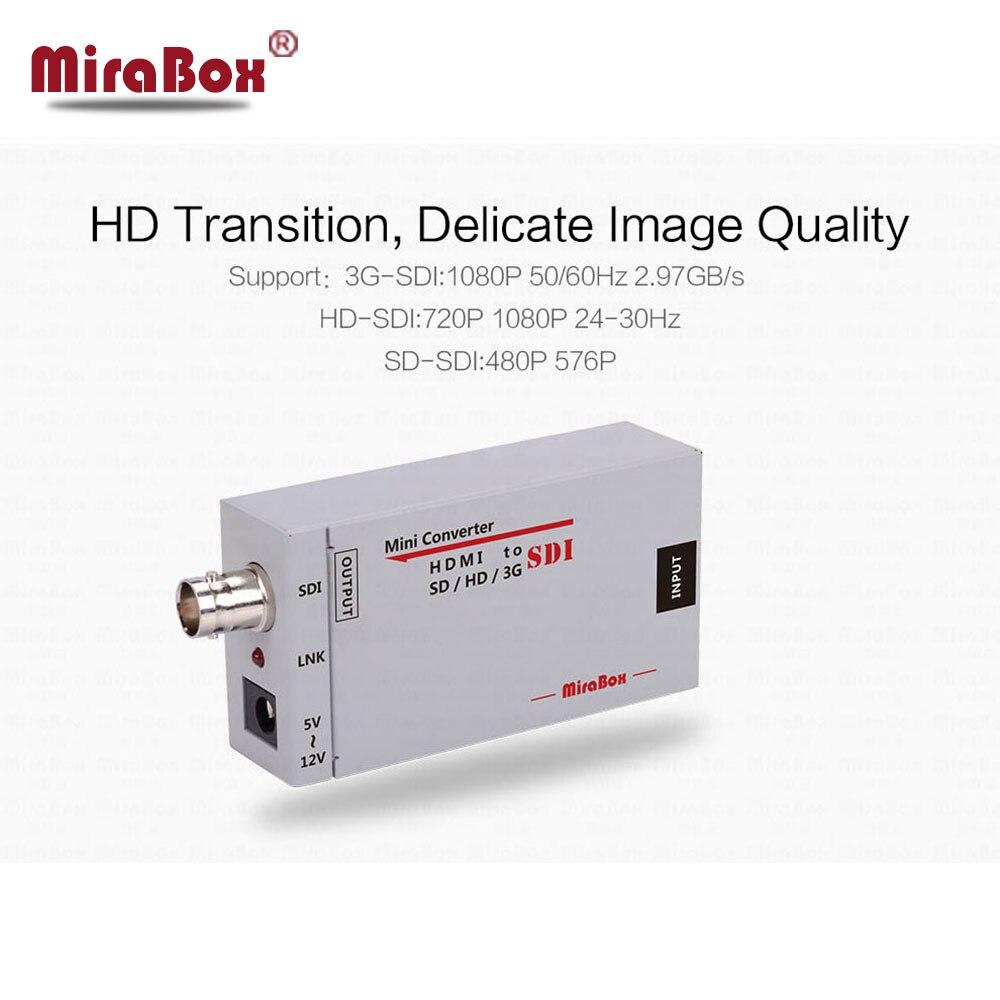 HSV191 HDMI to SDI Converter Adapter HDMI SDI Adapter SD HD 3G SDI Adapter Support 1080P