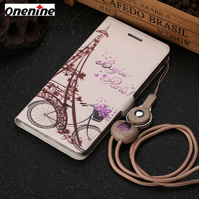 new product 4bd16 0c368 US $3.99 20% OFF|Luxury Phone Cover Cases for VIVO Y51 Y51L Case Leather  Flip Cover 5.0 inch Wallet Card Shockproof Cover 3D Cartoon Fundas Coque-in  ...
