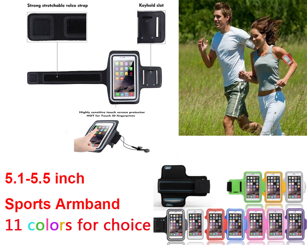 """The Cheapest Price 5.5"""" Sports Belt Armband For Meizu M5 Note/pro 6/s/plus/mx4/umi Plus/e/max/huawei Honor 8/5x/p9/p8 Reflective Cycling Bag Case Ture 100% Guarantee"""