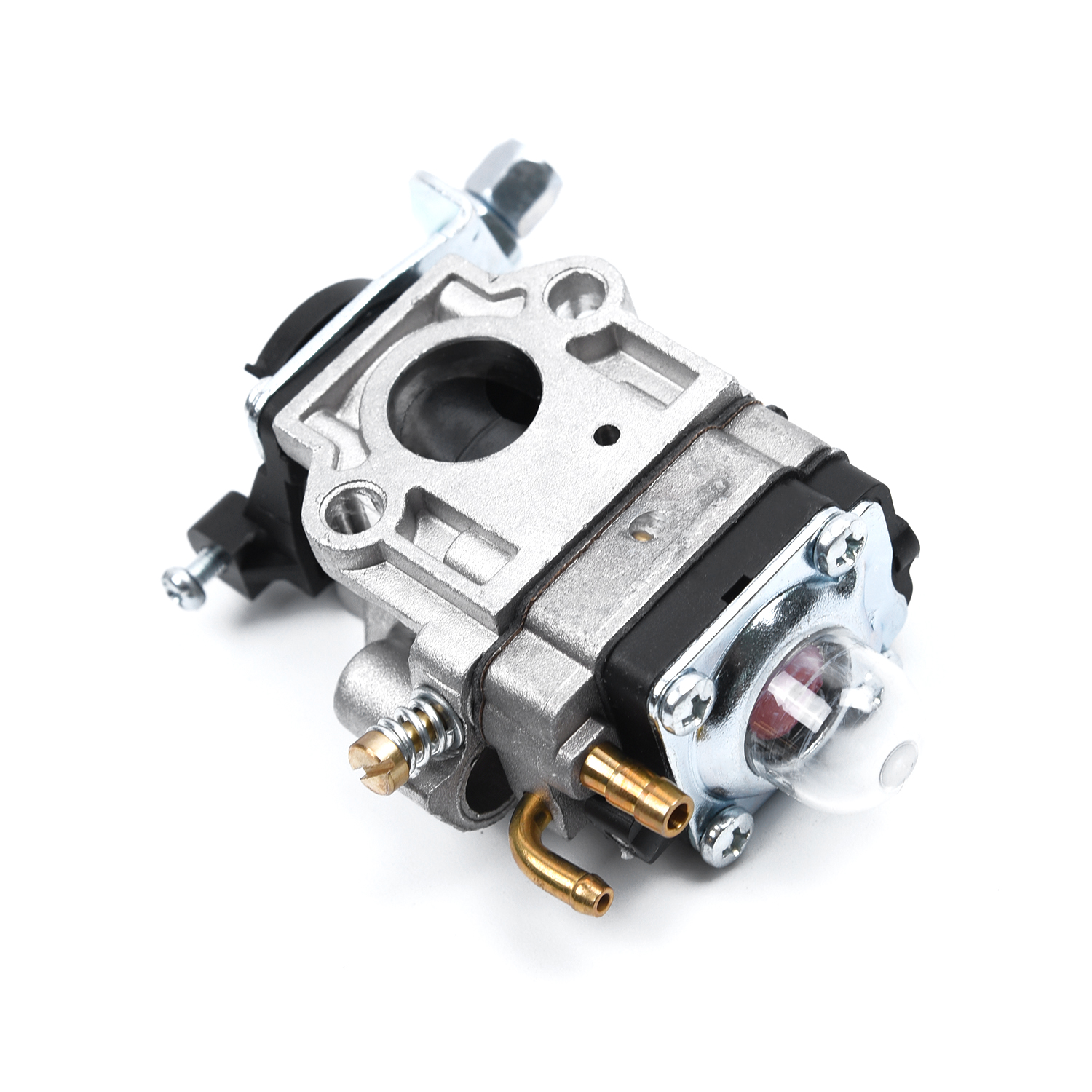 15mm Carburetor For Brushcutter 43cc 49cc 52cc Strimmer Cutter Carb Replace Part Garden & Patio