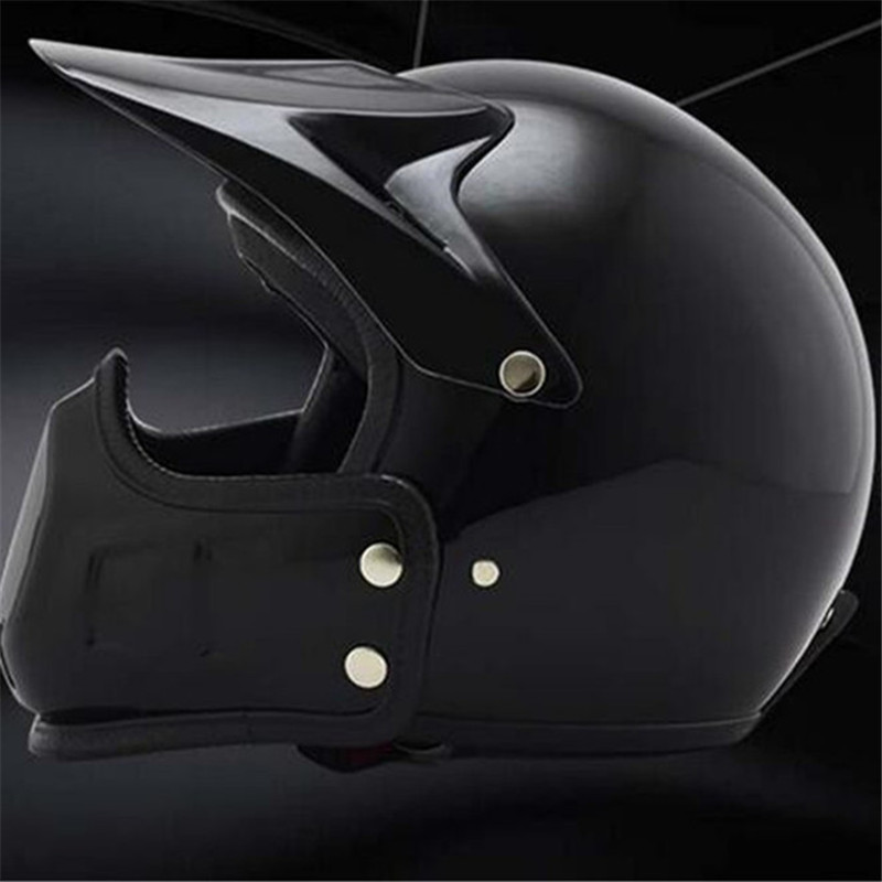 Adulto Modular Casco de la Motocicleta Abs Material de la Cara Completa Casco de la Moto Anti Niebla Flip Up Retro Cruiser Chopper Racer Motocross Casco Regalo