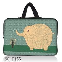 Elephant Notebook Computer Laptop Sleeve Waterproof Bag Case Handbag For Ipad Tablet PC 7 10 11