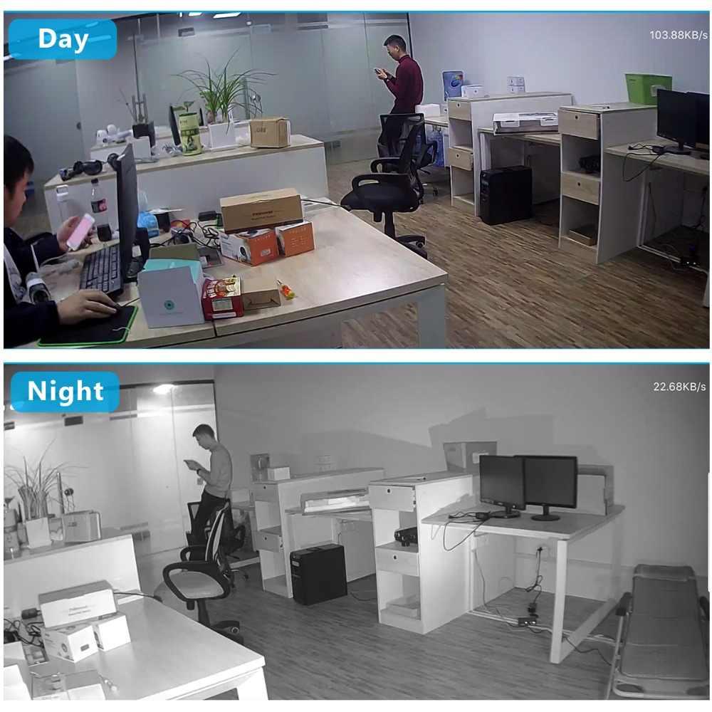 1080P PTZ Ip Kamera Wifi Outdoor Speed Dome Kamera Keamanan Nirkabel Wifi Pan Tilt 4X Digital Zoom 2MP Jaringan pengawasan CCTV