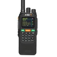 Infinite Distance Global Intercom GPS Positioning 10W 6000 mAh Ksun Walkie Talkie Civilian 50 KM Outdoor Walkie Talkie