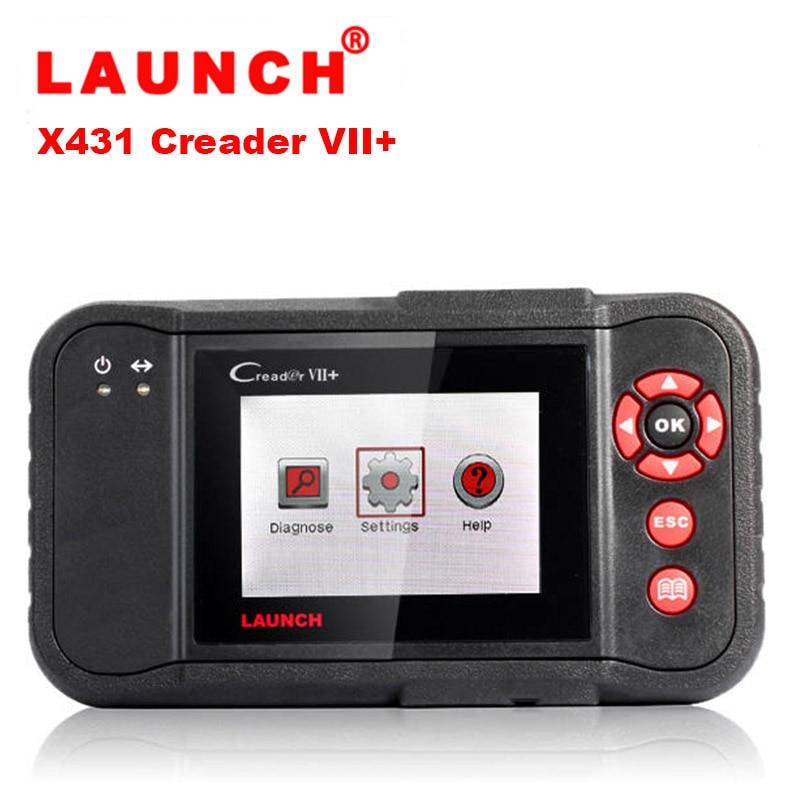 OBDII Diagnosegerät Code Reader OBD2 Scanner Motor ABS SRS 7 Launch X431 VII