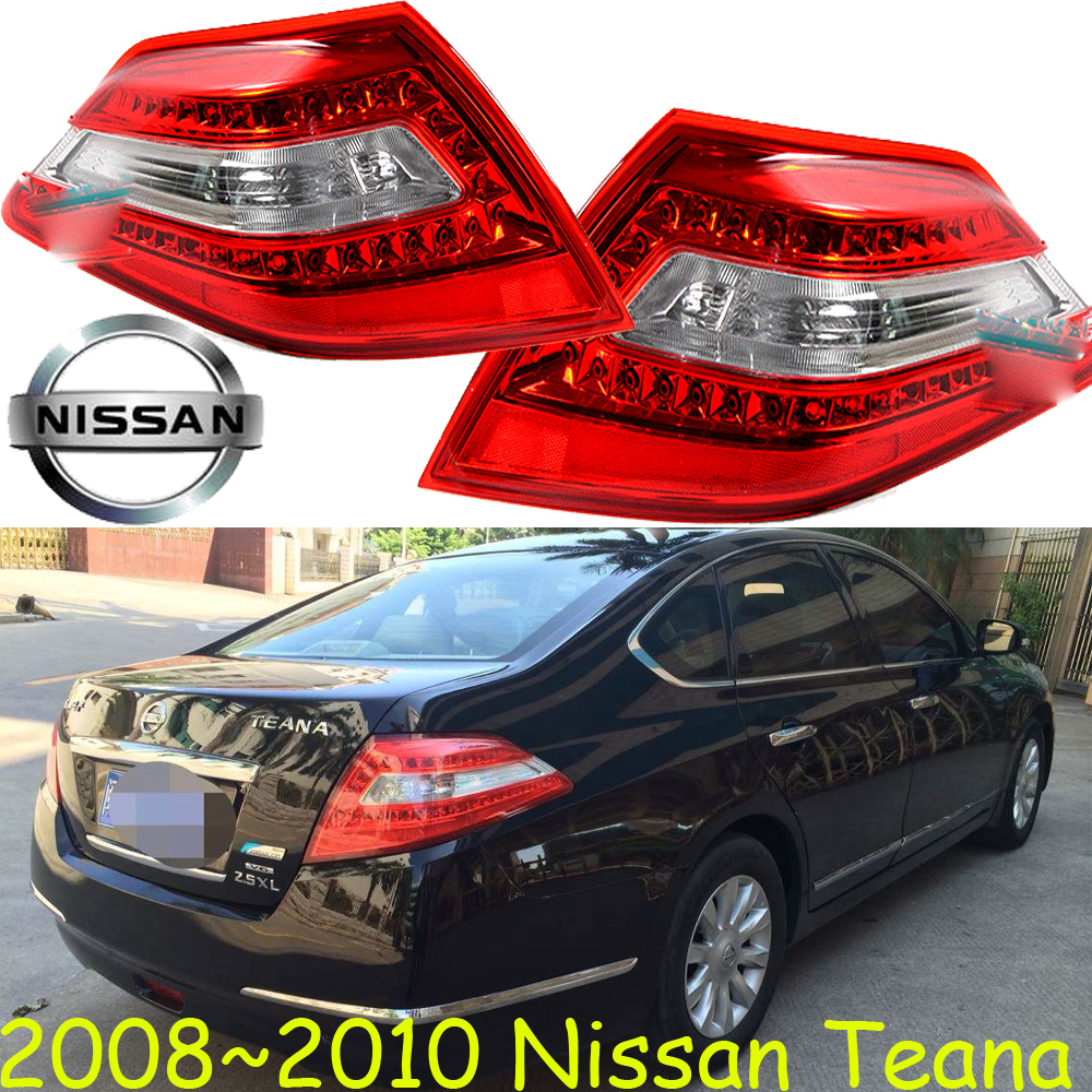 Teana taillight,2004~2007/2008~2010,Free ship!2pcs/set,Teana rear light,Red color,Teana headlight;Bluebird,Sunny,Teana bluebird breaking light 2006 2011 free ship led sylphy rear light led 2pcs set sylphy taillight bluebird teana sunny march